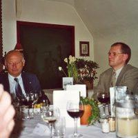 Bestuursleden ir. W. Hoenselaar en prof.dr.ir. J.C. Schouten.