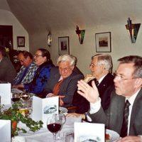 V.l.n.r. bestuurslid prof.dr.ir. J.C. Schouten, voorzitter prof.ir. C.M. van den Bleek, vertrekkend administrateur mevrouw C.M. van der Loo-Vreeburg, secretaris-penningmeester prof.ir. W. Herman de Groot en bestuursleden ir. D. van der Meer en prof.dr.ir.