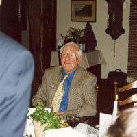 Prof.ir. W. Herman de Groot wordt toegesproken door de vice-voorzitter prof.dr.ir. H. de Waal.
